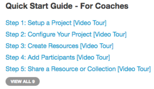 Coachmetrix - Quick Start Guide - For Coaches