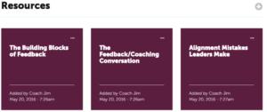 Coachmetrix - Sample Resources