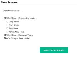 Coachmetrix - Share Resource